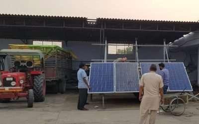 Solarstrom für Wasserpumpen