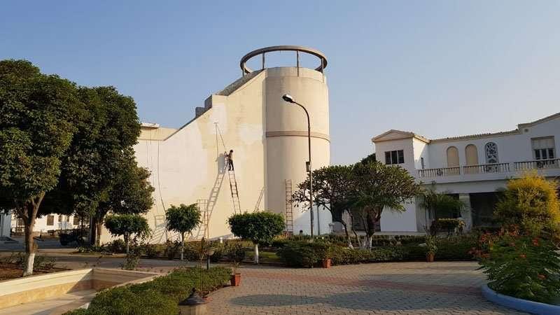 Wasserturm renoviert
