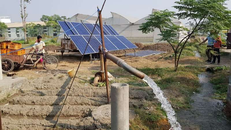 mobile Solaranlage