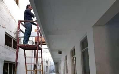 Roof repair (academy cum hostel)